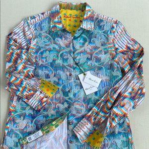 NWT ROBERT GRAHAM LIMITED ED. Button Down Shirt